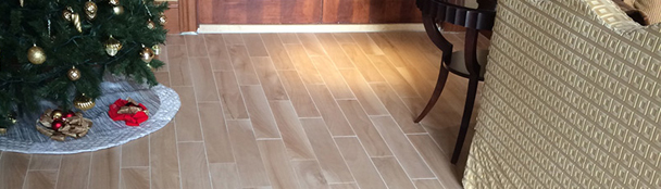 Check out the work we did of hardwood flooring in a Great Room by Abbey Carpet & Floor in Naples.