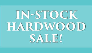 In-stock hardwood flooring on sale during the New Year New Floor sale at Abbey Carpet of Naples!  Walnut hardwood* $9.99 sq.ft.