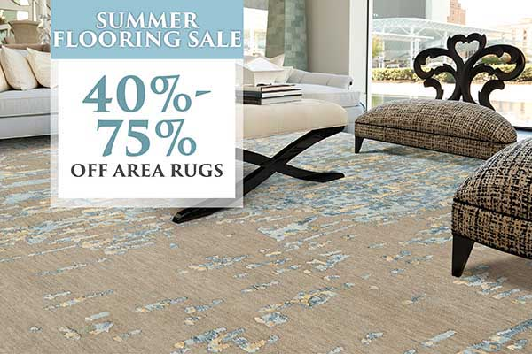 40% - 75%OFF ALL RUGS!